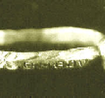 Medievel Gold Ring with Sapphire Stone